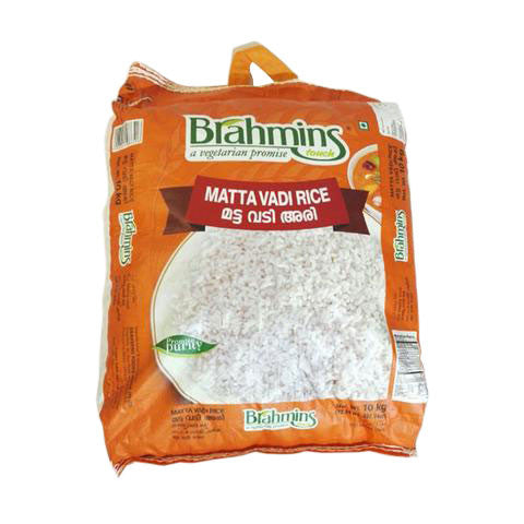 Brahmins Matta Vadi Rice 10 kg - Sabadda - Indian Online Grocery Store in UK