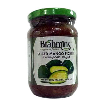 Brahmins Sliced Mango Pickle 300 gm - Sabadda - Indian Online Grocery Store in UK