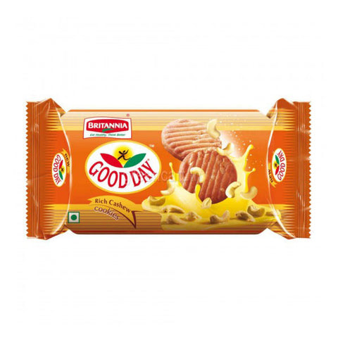 Britannia Good Day Rich Cashew Cookies 72 gm - Sabadda - Indian Online Grocery Store in UK