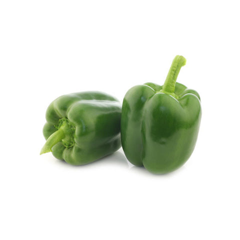 Capsicum Green 500gm - SabAdda - Asian Grocery Store