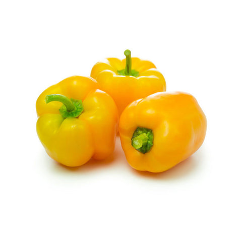 Capsicum Yellow 500gm - SabAdda - Asian Grocery Store