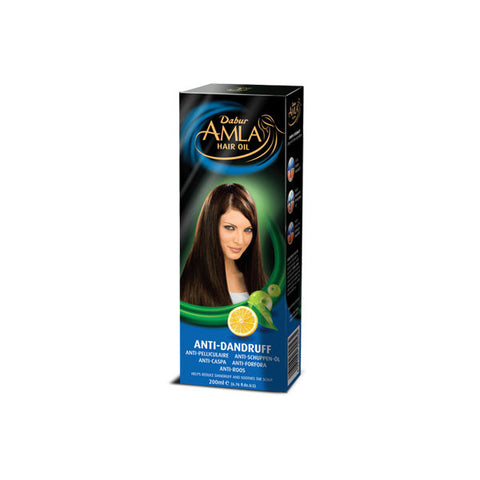 Dabur Amla Anti Dandruff Hair Oil 200 ml - Sabadda - Indian Online Grocery Store in UK