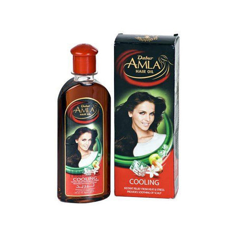 Dabur Amla Cooling Hair Oil 200ml - SabAdda - Desi Indian Grocery Store