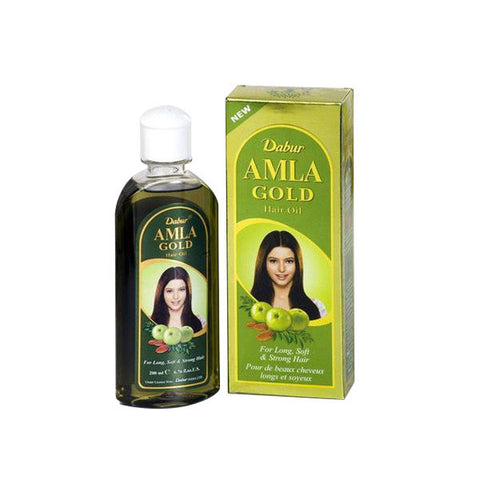 Dabur Amla Gold Hair Oil 200 ml - SabAdda - Desi Indian Grocery Store