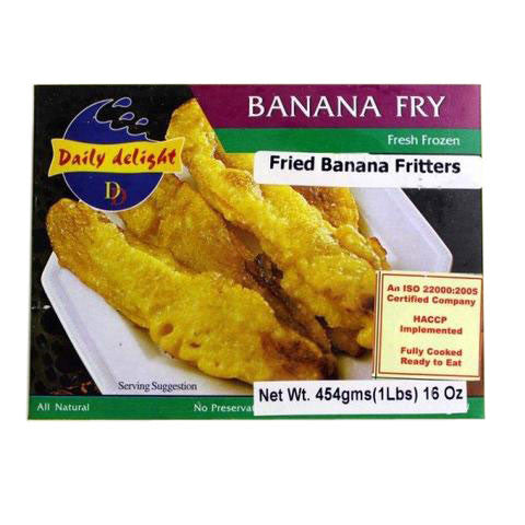 Daily Delight Banana Fry 450 gm - Sabadda - Indian Online Grocery Store in UK