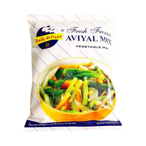 Daily Delight Fresh Frozen Aviyal Mix Vegetable Mix 400 gm - Sabadda - Indian Online Grocery Store in UK