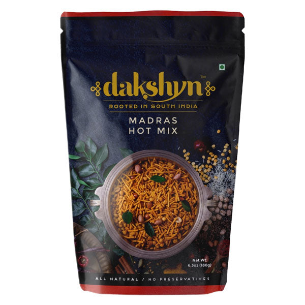Dakshyn Madras Hot Mix 180 gm - Sabadda - Indian Online Grocery Store in UK