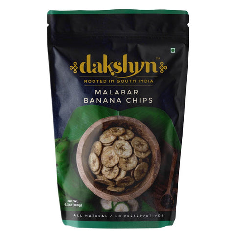 Dakshyn Malabar Banana Chips 180 gm - Sabadda - Indian Online Grocery Store in UK