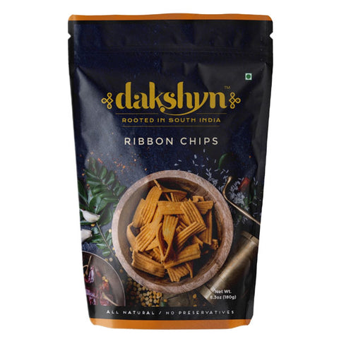 Dakshyn Ribbon Chips 180 gm - Sabadda - Indian Online Grocery Store in UK