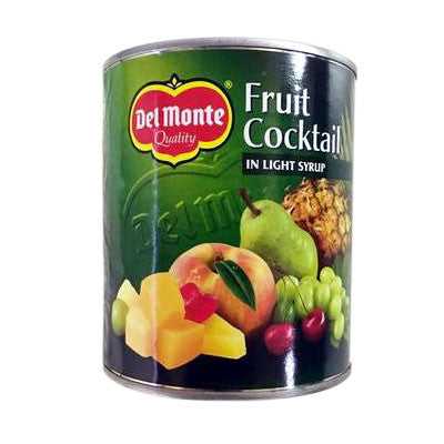 Del Monte Fruit Cocktail in Light Syrup 820 gm - Sabadda - Indian Online Grocery Store in UK
