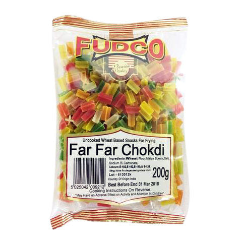 Fudco Far Far Chokdi 200 gm - Sabadda - Indian Online Grocery Store in UK