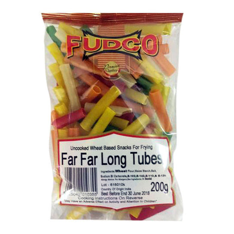Fudco Far Far Long Tubes 200 gm - Sabadda - Indian Online Grocery Store in UK