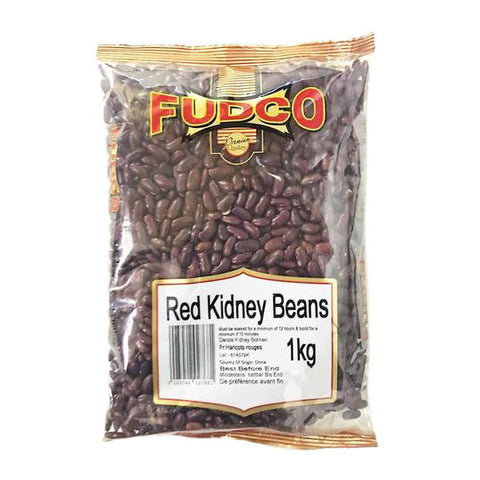 Fudco Red Kidney Beans 1 kg - Sabadda - Indian Online Grocery Store in UK