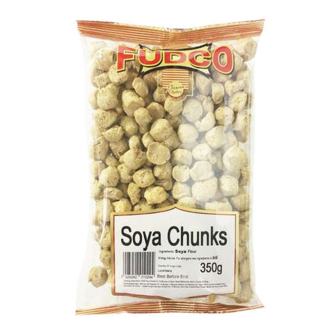 Fudco Soya Chunks 350 gm - Sabadda - Indian Online Grocery Store in UK