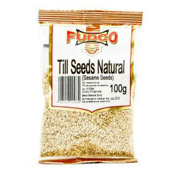 Fudco Till Seeds Natural 100 gm - Sabadda - Indian Online Grocery Store in UK