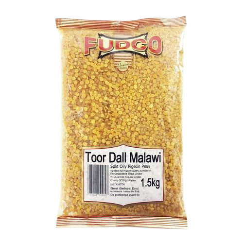 Fudco Toor Dall Malawi 1.5 kg - Sabadda - Indian Online Grocery Store in UK