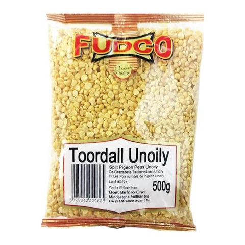 Fudco Toor Dall Unoily 500 gm - Sabadda - Indian Online Grocery Store in UK