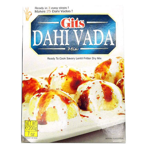 Gits Dahi Vada Mix 200 gm - Sabadda - Indian Online Grocery Store in UK
