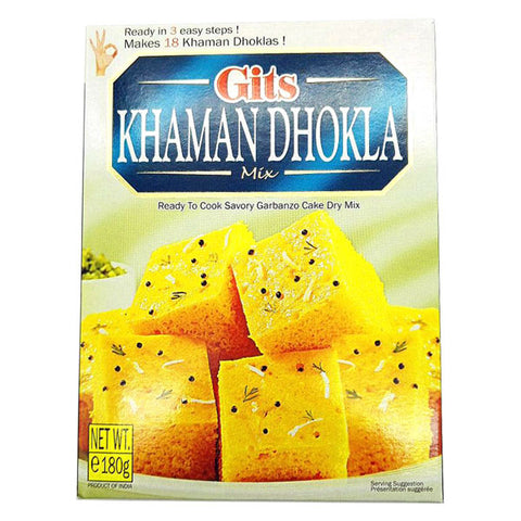 Gits Khaman Dhokla Mix 180 gm - Sabadda - Indian Online Grocery Store in UK