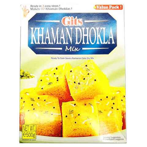 Gits Khaman Dhokla Mix 500 gm - Sabadda - Indian Online Grocery Store in UK