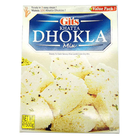 Gits Khatta Dhokla Mix 500 gm - Sabadda - Indian Online Grocery Store in UK