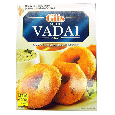 Gits Medu Vadai Mix 200 gm - Sabadda - Indian Online Grocery Store in UK