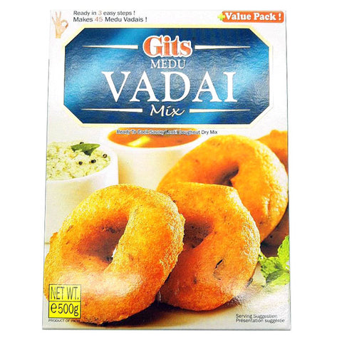 Gits Medu Vadai Mix 500 gm - Sabadda - Indian Online Grocery Store in UK