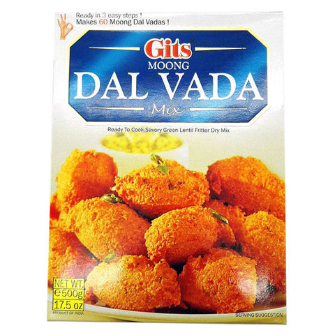 Gits Moong Dal Vada Mix 500 gm - Sabadda - Indian Online Grocery Store in UK