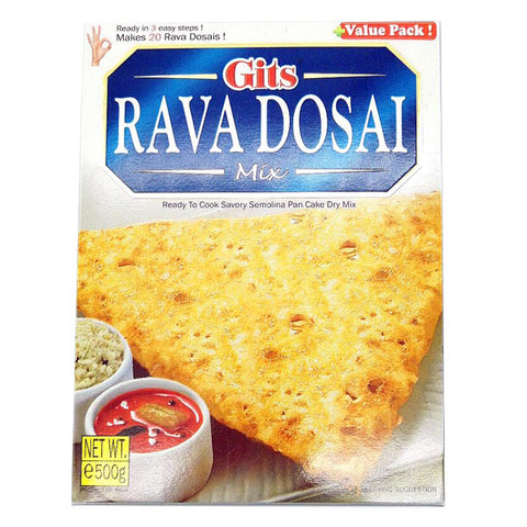 Gits Rava Dosai Mix 500 gm - Sabadda - Indian Online Grocery Store in UK