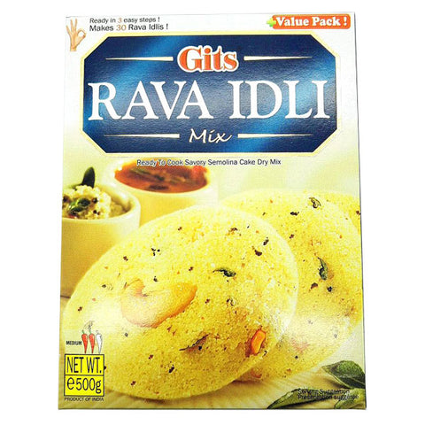Gits Rava Idli Mix 500 gm - Sabadda - Indian Online Grocery Store in UK