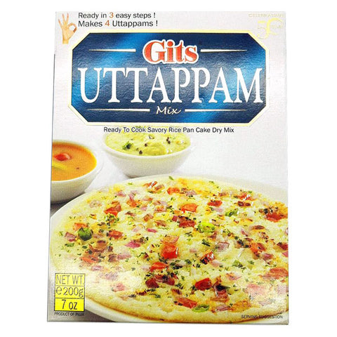 Gits Uttappam Mix 200 gm - Sabadda - Indian Online Grocery Store in UK