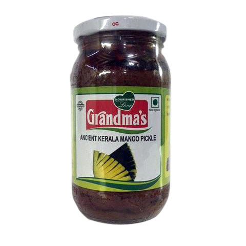 Grandma's Ancient Kerala Mango Pickle 400 gm - Sabadda - Indian Online Grocery Store in UK