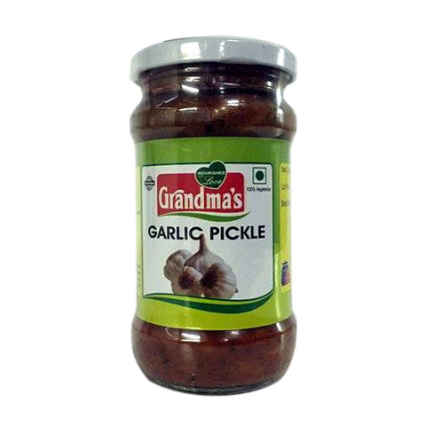 Grandma's Garlic Pickle 300 gm - Sabadda - Indian Online Grocery Store in UK