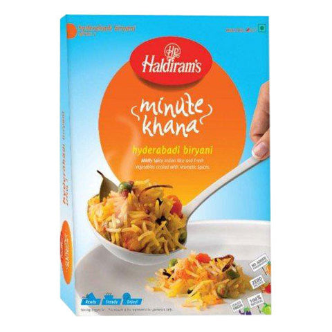 Haldiram's Hyderabadi Biryani 250 gm - Sabadda - Indian Online Grocery Store in UK