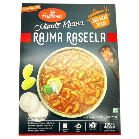 Haldiram's Minute Khana Rajma Raseela 300 gm - Sabadda - Indian Online Grocery Store in UK