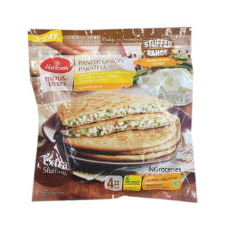 Haldiram's Paneer Onion Paratha 400 gm - Sabadda - Indian Online Grocery Store in UK