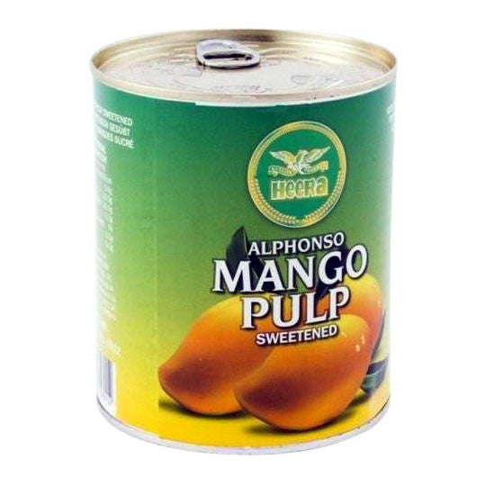 Heera Alphonso Mango Pulp 850 gm - Sabadda - Indian Online Grocery Store in UK