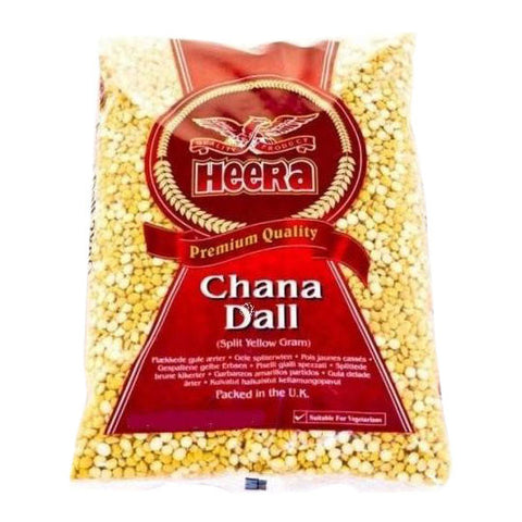 Heera Chana Dal (Split Yellow Gram) 500 gm - Sabadda - Indian Online Grocery Store in UK