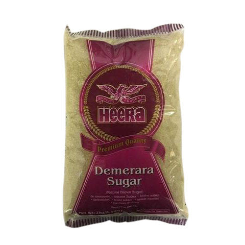 Heera Demerara Sugar 2 kg - Sabadda - Indian Online Grocery Store in UK