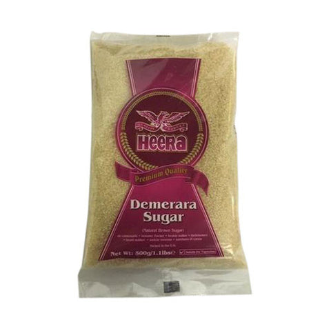 Heera Demerara Sugar 500 gm - Sabadda - Indian Online Grocery Store in UK