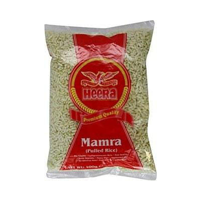 Heera Mamra Puffed Rice 400 gm - Sabadda - Indian Online Grocery Store in UK