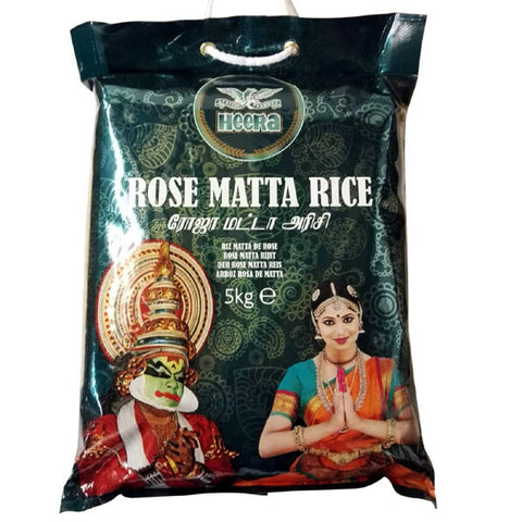 Heera Rose Matta Rice 5 kg - Sabadda - Indian Online Grocery Store in UK