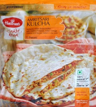 Haldiram's Amritsari Kulcha 320 gm - Sabadda - Indian Online Grocery Store in UK