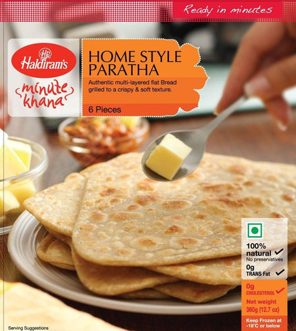 Haldiram's Homestyle Paratha 360 gm - Sabadda - Indian Online Grocery Store in UK