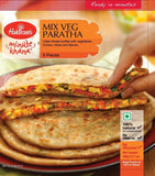 Haldiram's Mix Veg Paratha 400 gm - Sabadda - Indian Online Grocery Store in UK