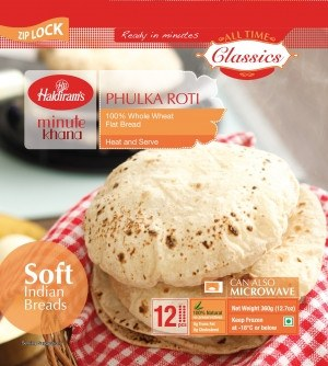 Haldiram's Phulka Roti 360 gm - Sabadda - Indian Online Grocery Store in UK