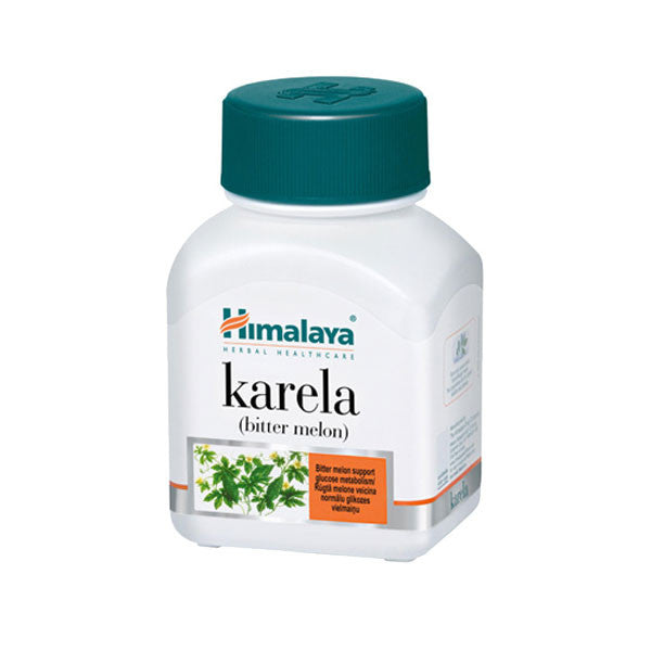 Himalaya Karela Bitter Melon Capsules 60 - Sabadda - Indian Online Grocery Store in UK
