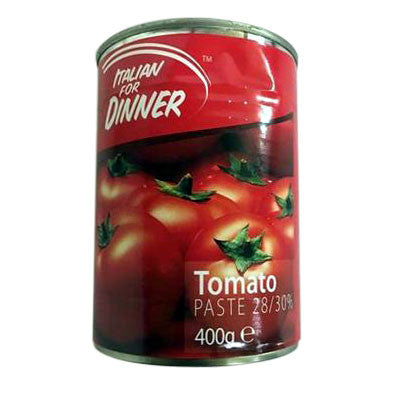 Italian for Dinner Tomato Paste 400 gm - Sabadda - Indian Online Grocery Store in UK