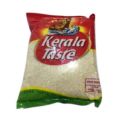 Kerala Taste White Raw Rice 2 kg - Sabadda - Indian Online Grocery Store in UK