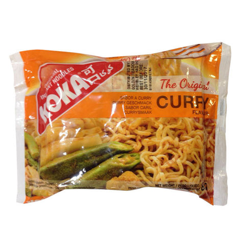 Koka Curry Flavour Instant Noodles 85 gm - Sabadda - Indian Online Grocery Store in UK